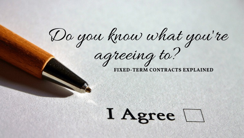 fixed-term employment contract becomes permanent